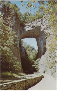 Natural Bridge, Virginia, unused Postcard