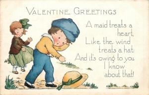 Valentine~Boy Learns Hard Way~Girl Treats Heart Like the Wind a Hat~Whitney Made