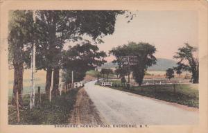 Sherburne, Norwich Road, SHERBURNE, New York, 1910-1920s