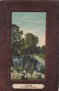 England Torquay The King's Gardens 1909