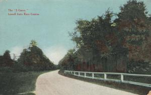LOWELL , Massachusetts , 00-10s ; S Curve on Auto Race Course