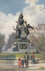 PARIS , France, 00-10s; Statue de Victor Hugo ; TUCK Serie 125 P N0 95