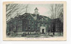 High School, Perry,  New York, 00-10s