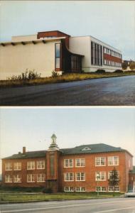 Pavillon F. Simard, Ecole Secondaire Bon Desir, BERGONNES, Saguenay, Quebec, ...