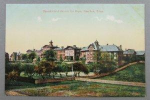 Connecticut School For Boys, Meriden CT Early UDB Postcard (#6828)