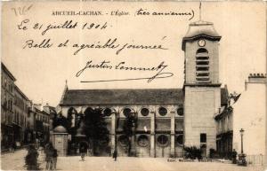 CPA ARCEUIL CACHAN L'Eglise (600124)