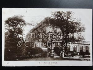c1910 RPPC - Nottingham Castle