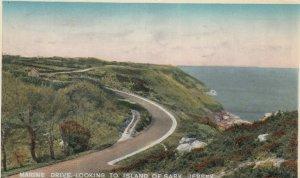 JERSEY , UK , 1953 ; Marine Drive looking to Island of Sark
