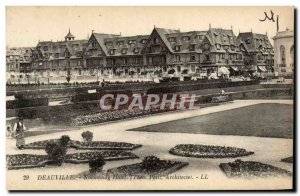 Deauville - Normandy Hotel - Old Postcard