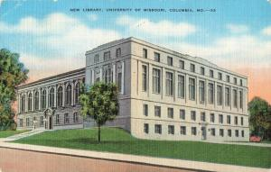 Postcard Library University of Missouri Columbia