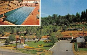 GOLD TRAIL MOTOR LODGE Placerville, CA Hwy 50 Roadside c1960s Vintage Postcard