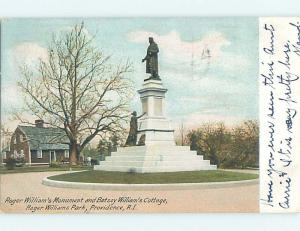 Pre-1907 PARK SCENE Providence Rhode Island RI H4123