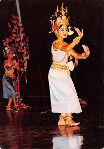 Phnom Penh Cambodia, Cambodge Une danseuse du Corps de Ballet Royal Phnom Pen...
