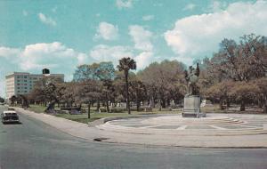 CHARLESTON, South Carolina, 40-60s ; The Battery, White Point Gardens