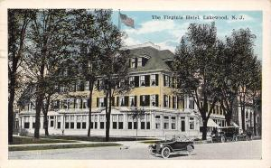 Lakewood New Jersey~Virginia Hotel~X's on Our Room~Fire Siren Went Off~1926 PC