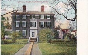 Lowell House Cambridge Massachusetts