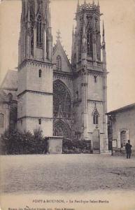 Pont-à-Mousson , France , PU-1919 ; La Basilique Saint-Martin