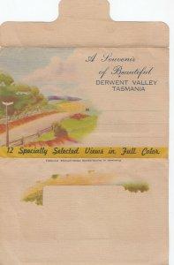 Folder PC; TASMANIA, Australia, 1910s-30s; 12 Views of Derwent Valley