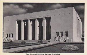War Memorial Building, Jackson, Mississippi, 1910-1920s