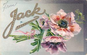 From Jack With Flowers Tucks