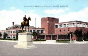 Colorado Colorado Springs High School Building