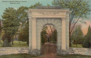 NASHVILLE, Tennessee, 1909 ; National Military Cemetery Entrance