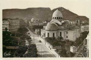 Algeria Postcard Oran la Cathedrale et Santa-Cruz