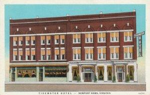 NEWPORT NEWS , Virginia , 1910s ; Tidewater Hotel