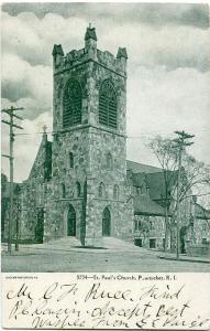 St Paul's Church - Pawtucket, Rhode Island - 1906 - UDB