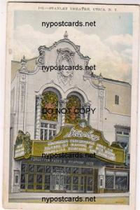Stanley Theatre, Utica NY