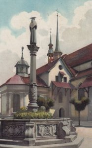 ALT-LUZERN , Switzerland , 1926 ; Franziskanerplatz