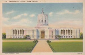 State Capitol Building Salem Oregon Curteich