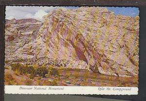 Dinosaur National Monument UT Postcard BIN