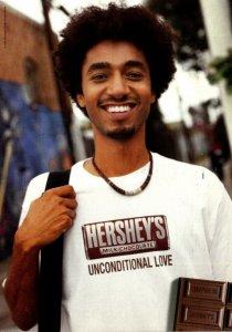 Advertising Hershey's Milk Choclate Bar 2006