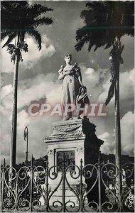 Modern Postcard Martinique Fort-de-France The statue of the Empress Josephine...