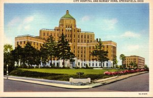 Ohio Springfield City Hospital and Nurses' Home Curteich