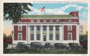 Post Office , SPARTANBURG , South Carolina , 10-20s