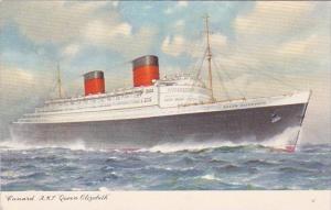 Cunard Line R M S Queen Elizabeth