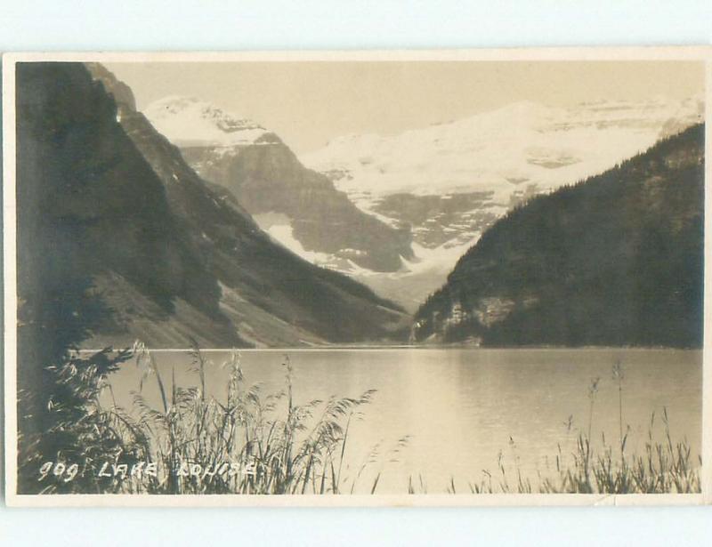 1930's rppc NICE VIEW Lake Louise Alberta AB W0951