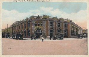 BROOKLYN , New York , 1910s ; Long Island Railroad Station