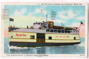 New Put-In-Bay Passenger & Aut Ferry, Mystic Isle
