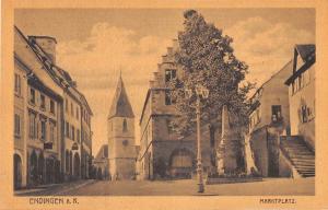 B39106 Edingen Marktplatz   germany