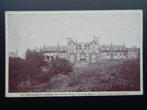 Norfolk NORTH ELMHAM Dr Barnardos Home THE WATTS NAVAL SCHOOL c1907 Postcard