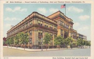 Pennsylvania Philadelphia Main Building Drexel Institute Of Technology 32nd A...