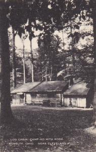 Log Cabin Camp Ho Mita Koda Novelty Near Cleveland Ohio Artvue