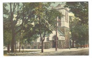 Exterior, Pilgrim Church, Attleboro, Massachusetts,PU-1910