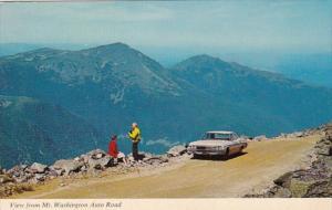 New Hampshire Mount Washington The Automobile Road