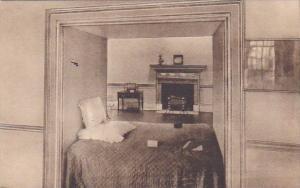The Original Alcove Bed At Monticello Charlottesville Virginia Albertype