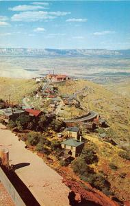 Jerome Arizona Ghost Town Birds Eye View Vintage Postcard J51846