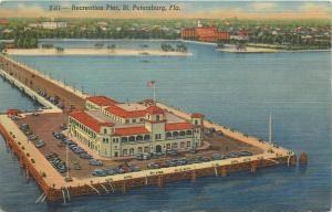 United States recreation pier St. Petersburg Florida